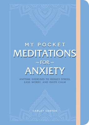 Book cover of My Pocket Meditations for Anxiety